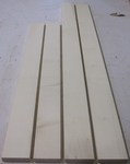 Maple Hard Romanian White 4/4 S2S  KD - Four Pcs