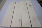 Maple Hard White 4/4 S2S  KD - Four Pcs