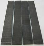 Ebony Gaboon Fret Board Stock RGH KD - Four Pcs