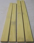 Satinwood (Jamaican) 4/4 S2S KD - Four Pcs