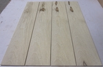 Black Limba 1/4 KD - Four Pcs