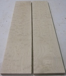 Bigleaf/Quilted Maple 4/4 S2S KD - Two Pcs