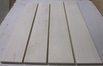 Maple Soft White 4/4 S2S  KD - Four Pcs
