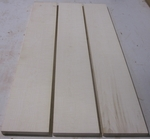 Maple Hard Rom.White/Curly 4/4 S2S  KD - Three Pcs