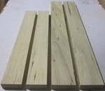 White Limba 8/4 S2S KD - Four Pcs